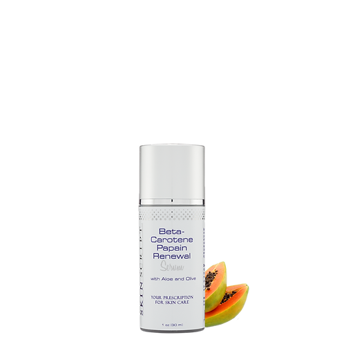 Beta-Carotene Papain Renewal Serum 1.7oz.