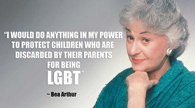 LGBTQ NYC BEA ARTHUR
