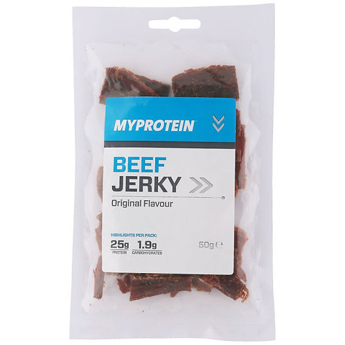 BEEF JERKY - Single pack 50g bag - High Protein and yummy