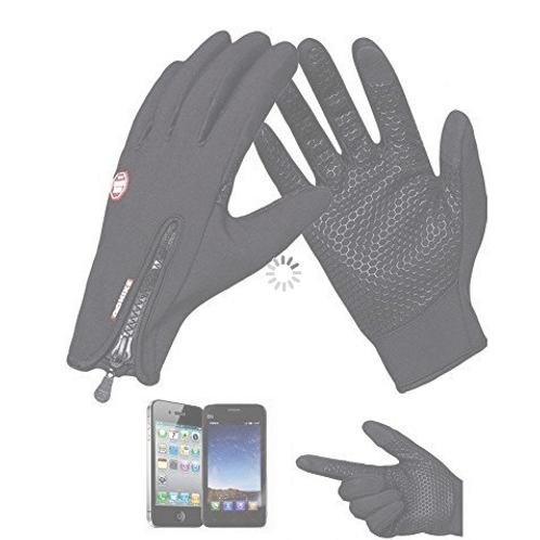 Unisex Running Gloves - Windproof and touchscreen pads