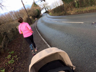 It's a mental and physical game for me.... Post Baby Running?
