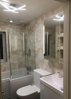 Bathroom Mastic work