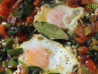 Fragrant Spiced Eggs - Free recipe from UltraCore Fitness