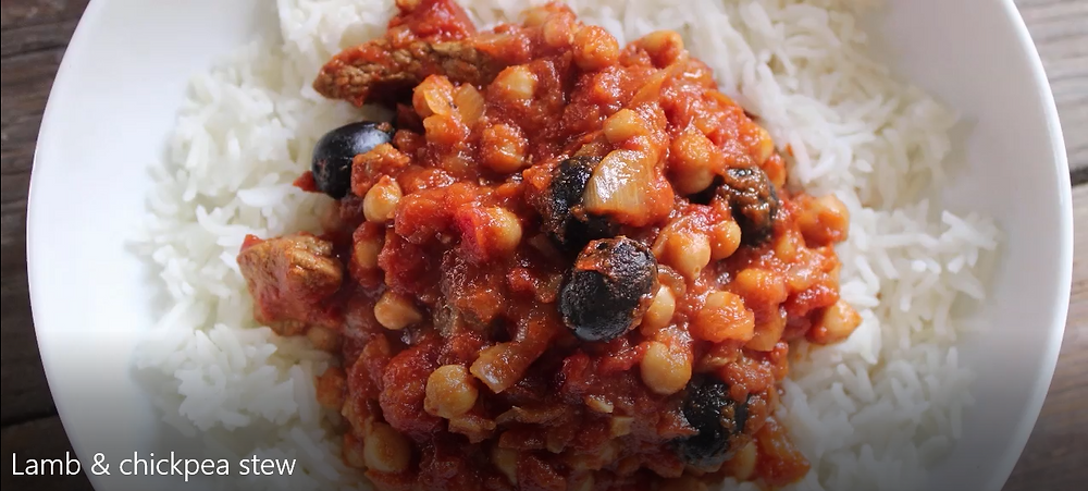 Healthy Chickpea & Lamb Stew