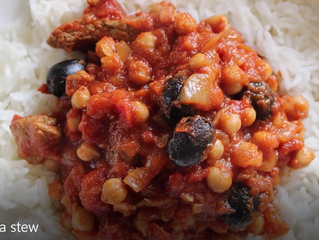 Lamb & Chickpea Stew - Free recipe from UltraCore Fitness