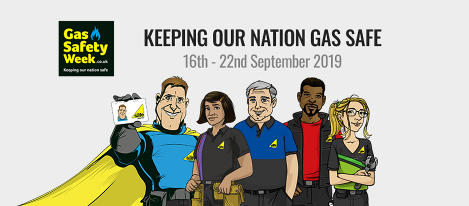Gas Safety Week 2019 with matthews plumbig