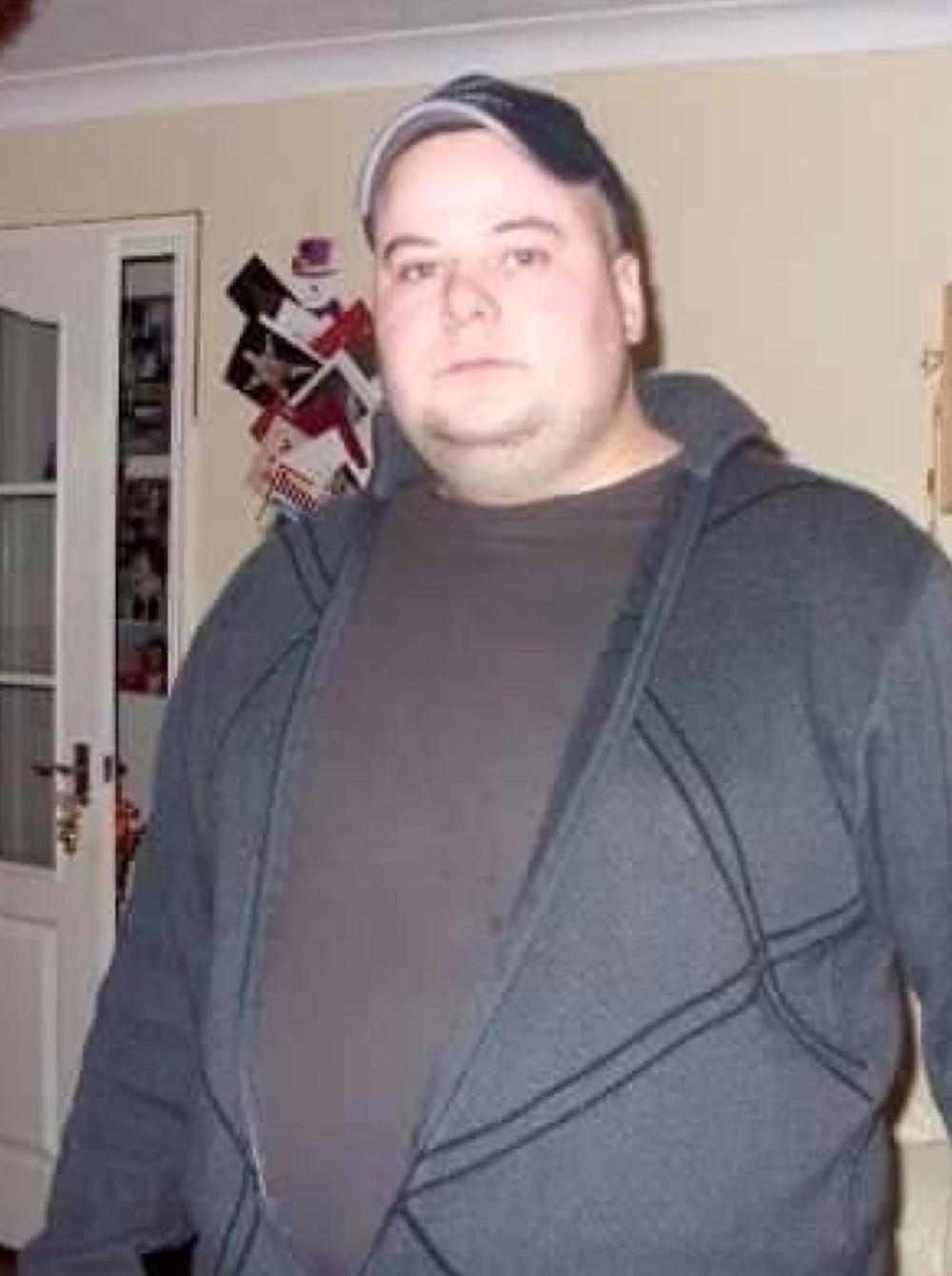 Jon Payne weight loss story