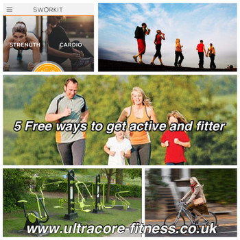 5 Ways to get active and fitter for free!