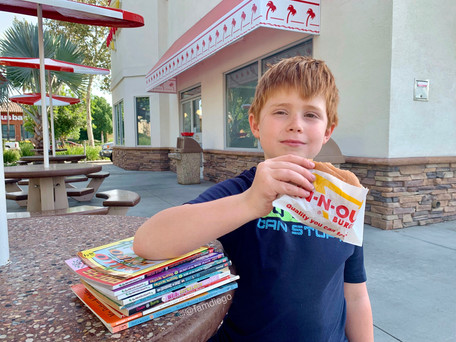In-N-Out's Secret Menu: Books! Their Reading Program is Back For Fall 2021