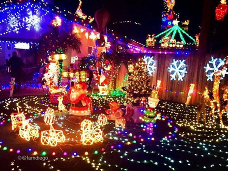 13 Christmas Light Neighborhoods Worth The Drive in San Diego