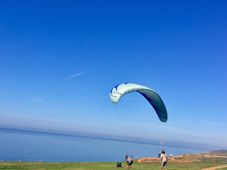 Torrey Pines Gliderport with the Kids