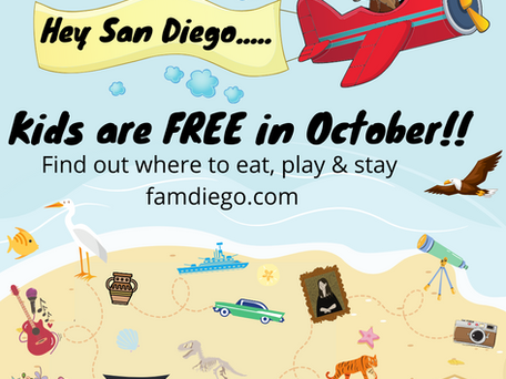 K is for Kids FREE in October! All you need to know for 2021