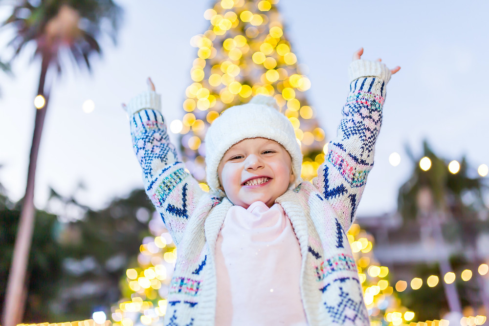 Hotel Del Coronado Winter Wonderland Santa Photos Best Top Holiday Christmas events activities list guide for families kids are still happening in San Diego December 2020 what to do this year