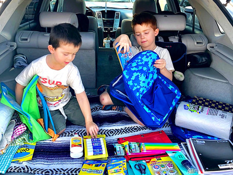 Back to School Drives in San Diego 2018