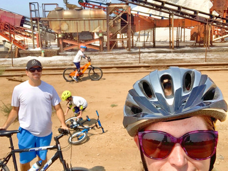 Bike Ride to the Salt Mines