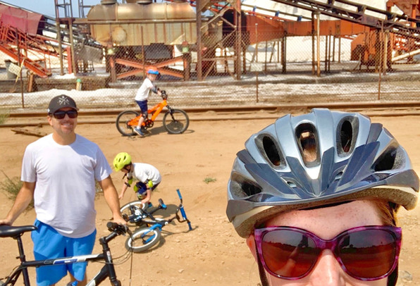 Bike Ride to the Salt Mines