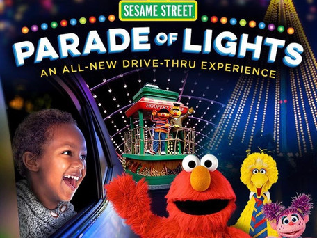 SeaWorld San Diego Sesame Street Parade of Lights - Jan. 15-Feb. 24, 2021