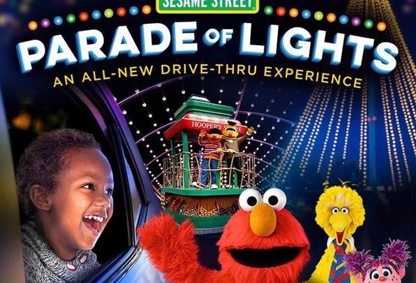 SeaWorld San Diego Sesame Street Parade of Lights - Jan. 15-Feb. 24, 2021