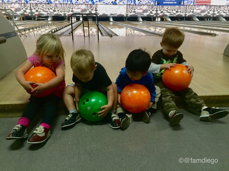 Kids FREE Summer Bowling
