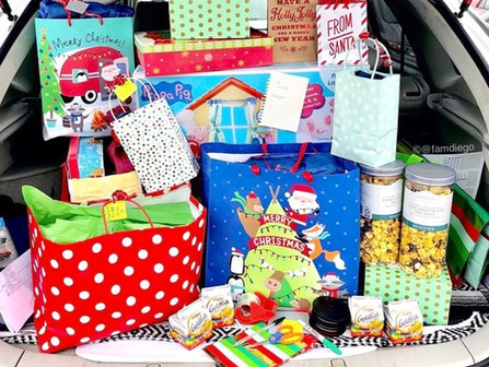 Sharing The Joy: Gift Donations to Our Local Military Families