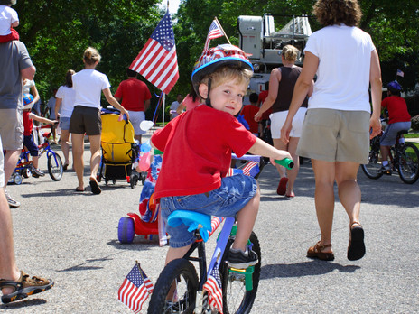 Parade Viewing Tips for Families