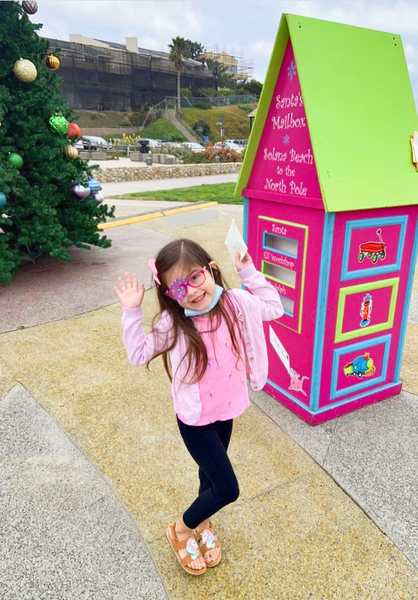 Where to Mail Letters to Santa's Mailbox Solana Beach Fletcher Cove Park Best Top Holiday Christmas events activities list guide for families kids are still happening in San Diego December 2020 what to do this year