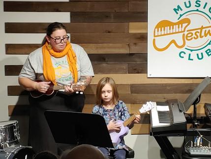 Ms Kelsey teaches voice, piano and ukulele!