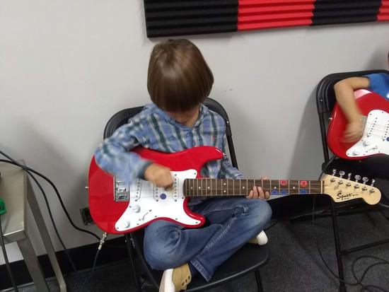 Fransico on guitar