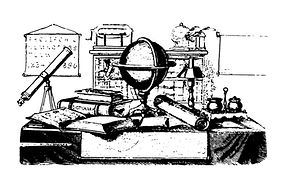 Desktop with Science Instruments line dr