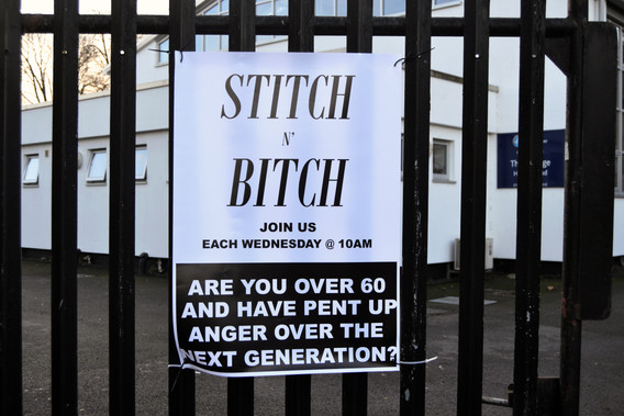 Stitch n' Bitch (2018) 1/3