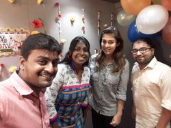 Nayanthara B'day Surprise