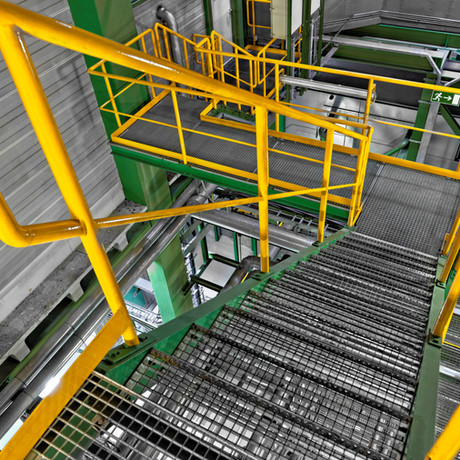 Wartungsbühnen und anderer Stahlbau
