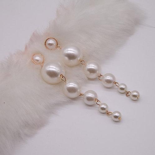 Pearl Beads Earrings Small