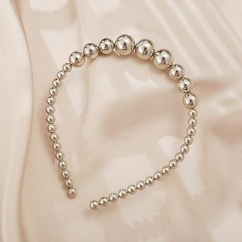 Retro Fashion Pearls Headband C
