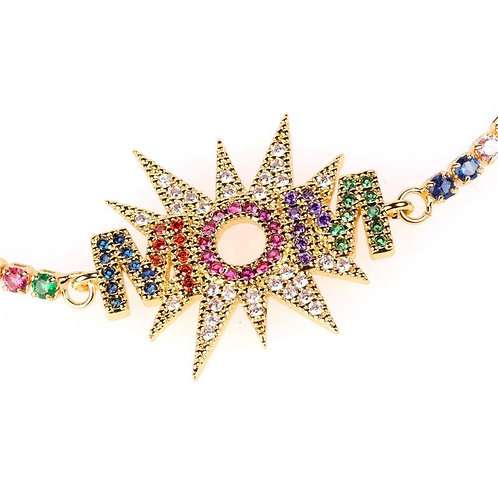 Rainbow Mom Bracelet