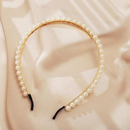 Retro Fashion Pearls Headband G