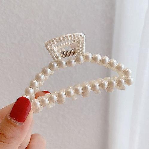 Pearl Hair Clip Hollow Hanger