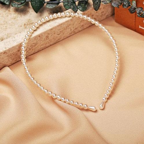 Retro Fashion Pearls Headband A