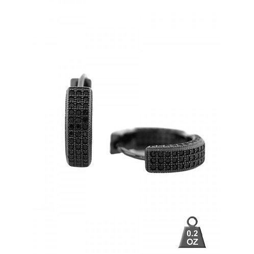 Sterling Silver CZ Earrings S