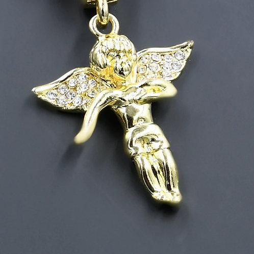 Angel Chain and Charm