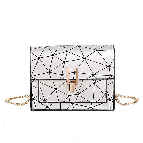 Oblique Laser Stitching Small Bag G