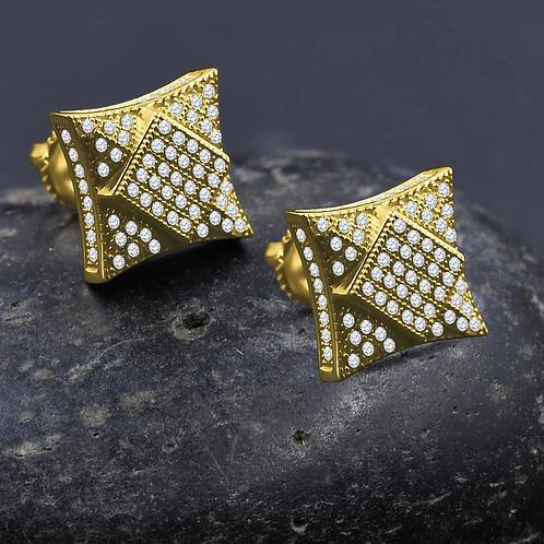 Rococo Screw Back Earrings G