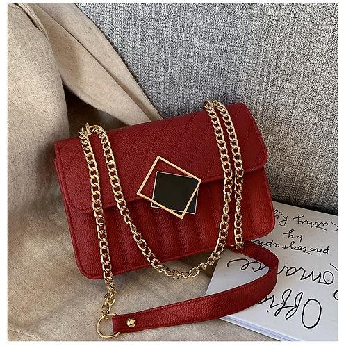 Messenger Small Square Bag RD
