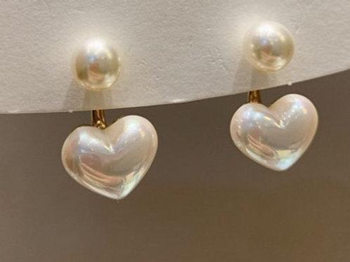 Love Pearl Earrings