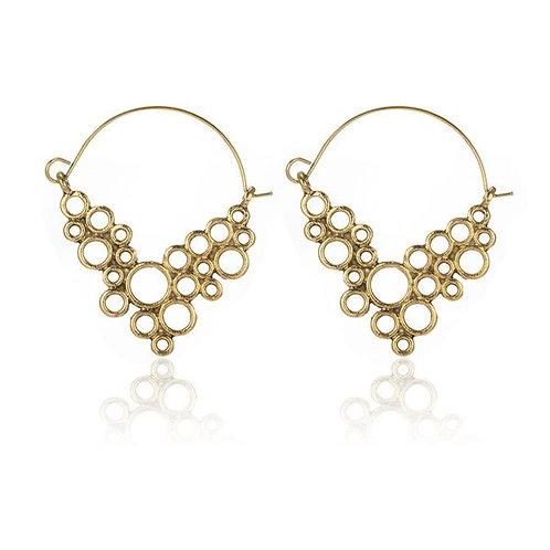 Fashion Earring (2714-alloy) 1G