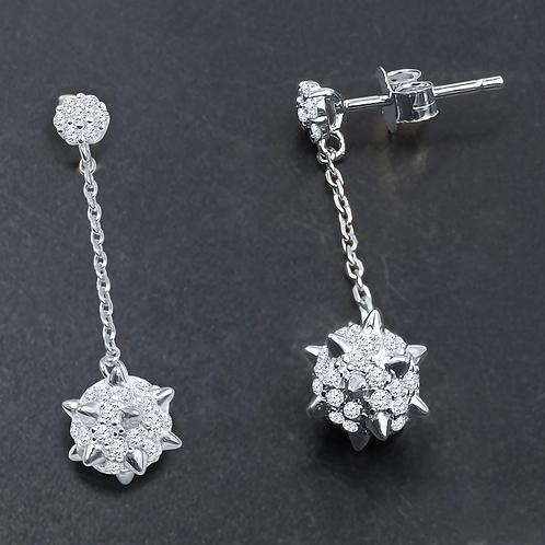 Vasty Silver Earrings S