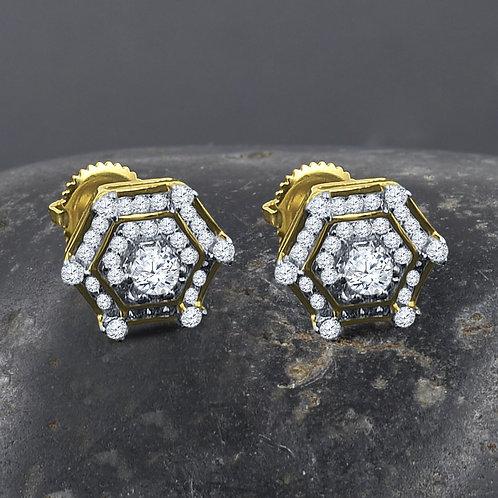 Senary Silver Earrings G
