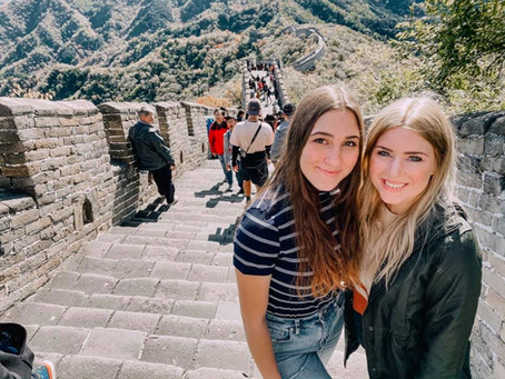 Seeing the Great Wall & Reese's Sweet 16!