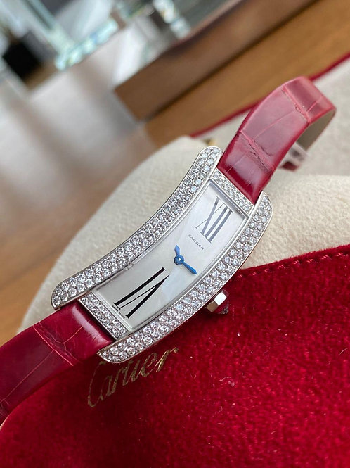 Cartier Ref 2625 NEW white gold