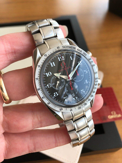 Omega   Ref 3556.50.00 with papers